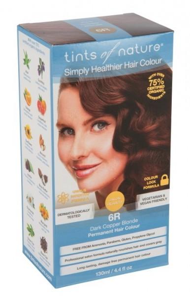 6R Dark Copper Blonde - Dunkles Kupferblond