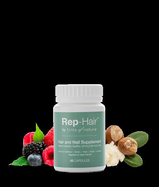 Rep-Hair Nahrungsergänzung-Kapseln für Haare und Nägel, 60 Kapseln