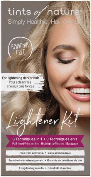3 in 1 Lightener Kit - Blondierung und Aufheller
